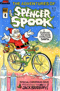 Cover Thumbnail for The Adventures of Spencer Spook (A.C.E. Comics, 1986 series) #4