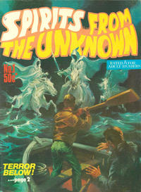 Cover Thumbnail for Spirits from the Unknown (Gredown, 1978 ? series) #1