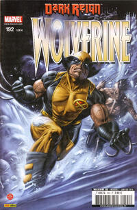 Cover Thumbnail for Wolverine (Panini France, 1997 series) #192