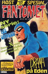 Cover Thumbnail for Fantomet (Semic, 1976 series) #20/1987