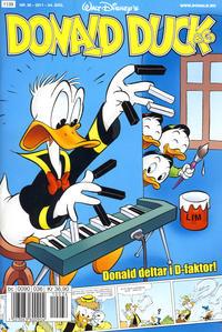 Cover Thumbnail for Donald Duck & Co (Hjemmet / Egmont, 1997 series) #36/2011