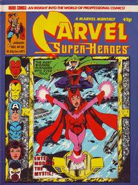 Cover Thumbnail for Marvel Superheroes [Marvel Super-Heroes] (Marvel UK, 1979 series) #381