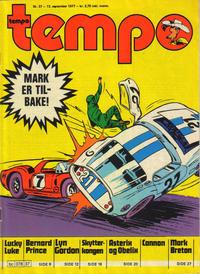 Cover Thumbnail for Tempo (Hjemmet / Egmont, 1966 series) #37/1977