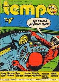 Cover Thumbnail for Tempo (Hjemmet / Egmont, 1966 series) #38/1977