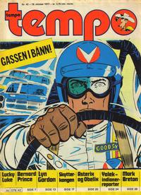 Cover Thumbnail for Tempo (Hjemmet / Egmont, 1966 series) #42/1977