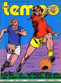 Cover Thumbnail for Tempo (Hjemmet / Egmont, 1966 series) #12/1978
