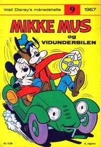 Cover Thumbnail for Walt Disney's månedshefte (Hjemmet / Egmont, 1967 series) #9/1967