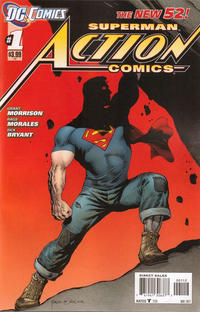 Cover Thumbnail for Action Comics (DC, 2011 series) #1 [2nd Printing Cover]
