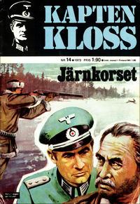 Cover Thumbnail for Kapten Kloss (Semic, 1971 series) #14 - Järnkorset