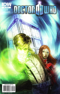 Cover for Doctor Who (IDW, 2011 series) #9 [Cover A Mark Buckingham]