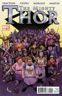 Cover Thumbnail for The Mighty Thor (Marvel, 2011 series) #5 [Olivier Coipel Cover]