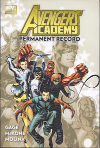 Cover Thumbnail for Avengers Academy (Marvel, 2011 series) #1 - Permanent Record