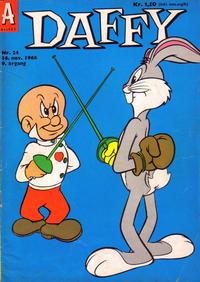 Cover Thumbnail for Daffy (Allers Forlag, 1959 series) #24/1966