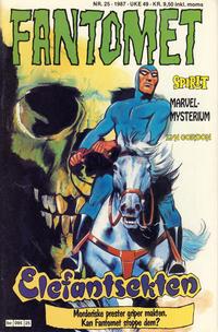 Cover Thumbnail for Fantomet (Semic, 1976 series) #25/1987