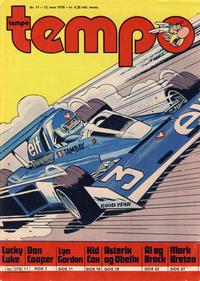 Cover Thumbnail for Tempo (Hjemmet / Egmont, 1966 series) #11/1978