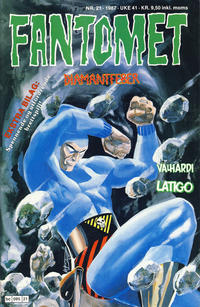 Cover Thumbnail for Fantomet (Semic, 1976 series) #21/1987