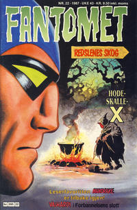 Cover Thumbnail for Fantomet (Semic, 1976 series) #22/1987