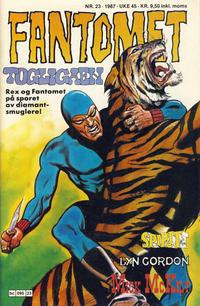Cover Thumbnail for Fantomet (Semic, 1976 series) #23/1987