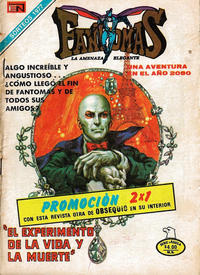 Cover Thumbnail for Fantomas (Editorial Novaro, 1969 series) #354