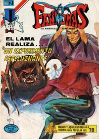 Cover Thumbnail for Fantomas (Editorial Novaro, 1969 series) #428