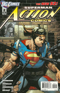 Cover Thumbnail for Action Comics (DC, 2011 series) #2