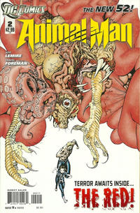 Cover Thumbnail for Animal Man (DC, 2011 series) #2