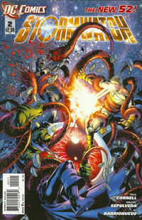 Cover Thumbnail for Stormwatch (DC, 2011 series) #2