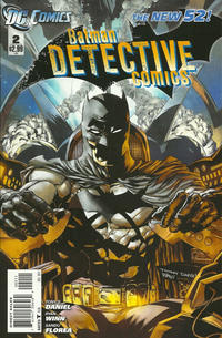 Cover Thumbnail for Detective Comics (DC, 2011 series) #2 [Direct Sales]