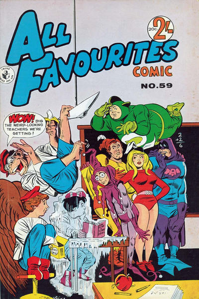 Cover for All Favourites Comic (K. G. Murray, 1960 series) #59
