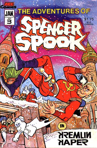 Cover for The Adventures of Spencer Spook (A.C.E. Comics, 1986 series) #3