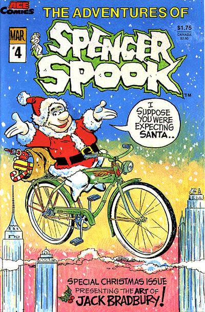 Cover for The Adventures of Spencer Spook (A.C.E. Comics, 1986 series) #4
