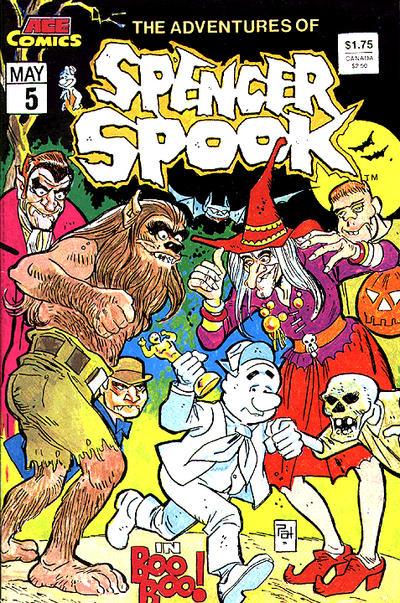 Cover for The Adventures of Spencer Spook (A.C.E. Comics, 1986 series) #5