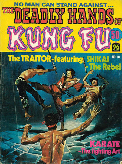 Cover for The Deadly Hands of Kung Fu (K. G. Murray, 1975 series) #10