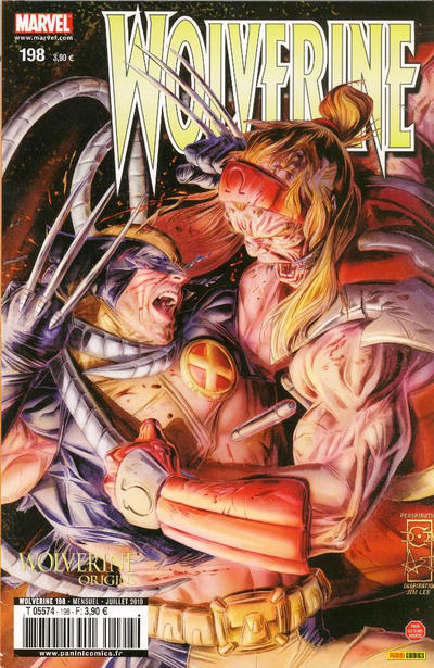 Cover for Wolverine (Panini France, 1997 series) #198