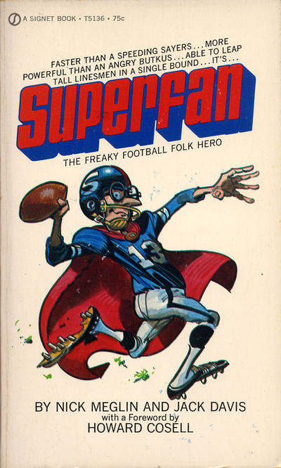 Cover for Superfan (New American Library, 1972 series) #T5136