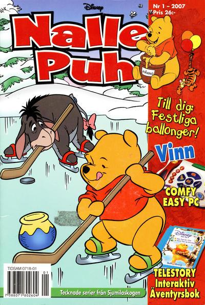 Cover for Nalle Puh (Egmont, 1998 series) #1/2007
