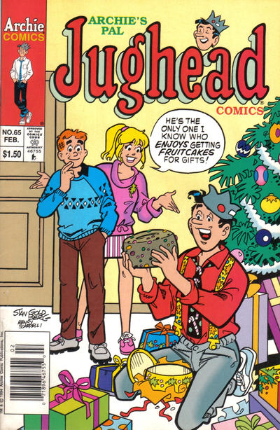 Cover for Archie's Pal Jughead Comics (Archie, 1993 series) #65 [Newsstand Edition]