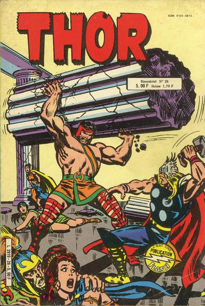 Cover for Thor (Arédit-Artima, 1977 series) #26