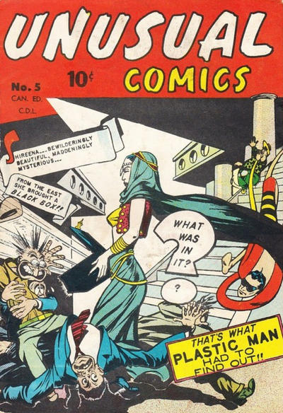 Cover for Unusual Comics (Bell Features, 1946 series) #5