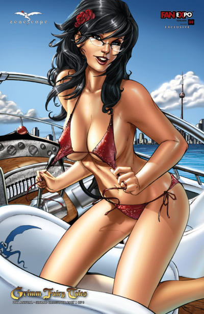 Cover for Grimm Fairy Tales 2011 Annual (Zenescope Entertainment, 2011 series)  [2011 Toronto Fan Expo Exclusive Variant - Mike DeBalfo]