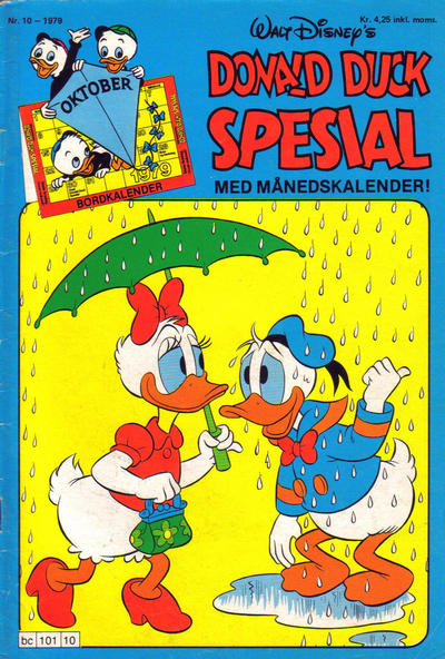 Cover for Donald Duck Spesial (Hjemmet / Egmont, 1976 series) #10/1979