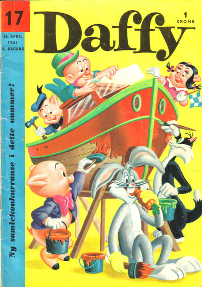 Cover for Daffy (Allers Forlag, 1959 series) #17/1961