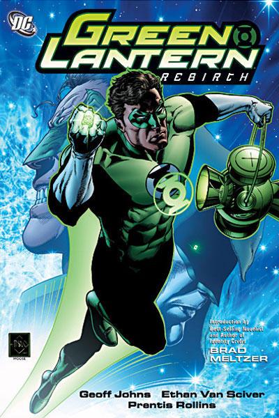 Cover for Green Lantern: Rebirth (DC, 2007 series)