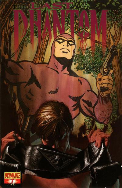 Cover for The Last Phantom (Dynamite Entertainment, 2010 series) #7