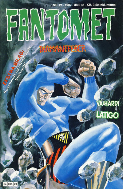 Cover for Fantomet (Semic, 1976 series) #21/1987
