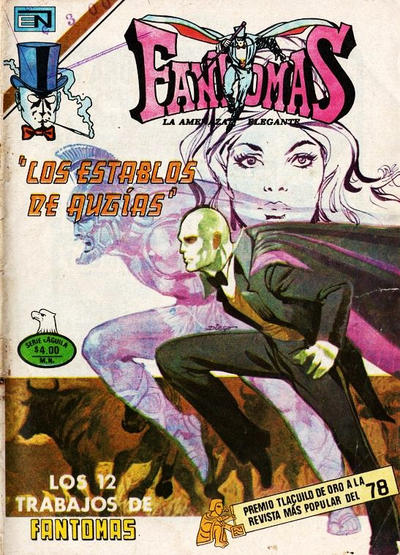 Cover for Fantomas (Editorial Novaro, 1969 series) #434