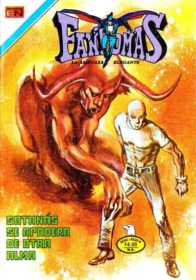 Cover for Fantomas (Editorial Novaro, 1969 series) #372