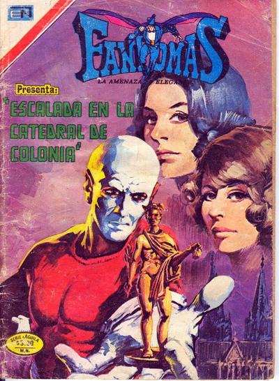 Cover for Fantomas (Editorial Novaro, 1969 series) #273