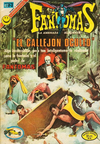 Cover for Fantomas (Editorial Novaro, 1969 series) #81