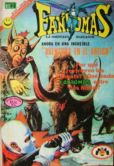 Cover for Fantomas (Editorial Novaro, 1969 series) #86